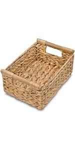 Wicker Baskets for Shelves