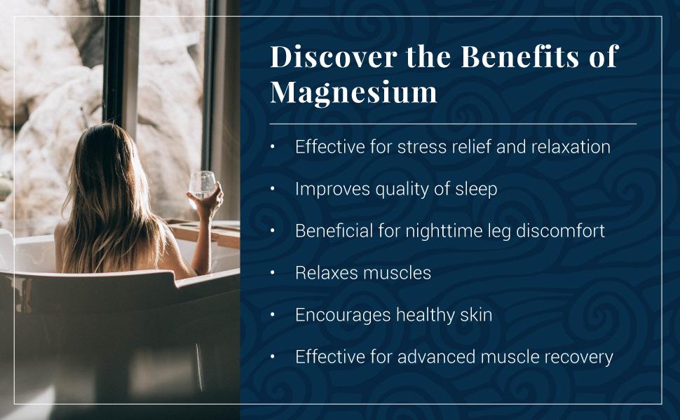 magnesium, bath flakes