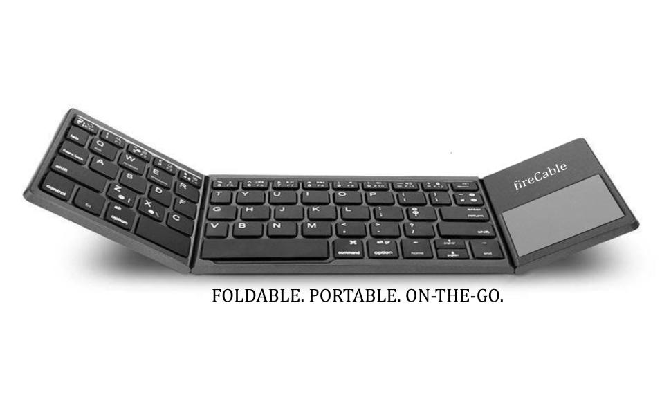 foldable keyboard pocket size expanded to full keyboard