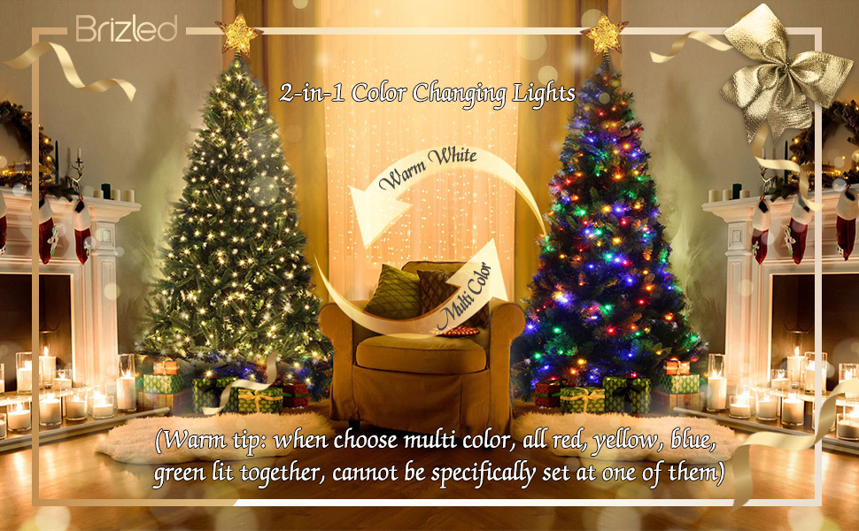 color changing xmas lights