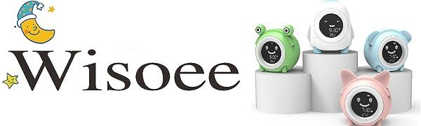 Sleep Trainer Clock for Toddlers  Alarm Clock Night Light and Sleep Sounds Machine