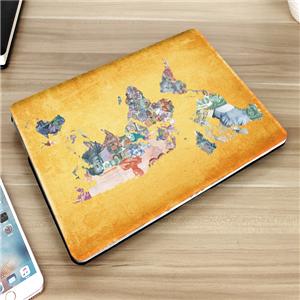Banknotes Map laptop case