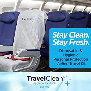 Disposable Recyclable Travel Clean Essential Kit frequent flyer gift business