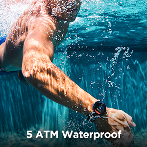Swim-ready Up to 50m Underwater
