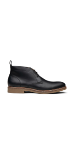 Dunross amp; Sons Flexible and Comfortable Roman Men's Casual Leather Chukka Boot. Versatile 4quot; Boot