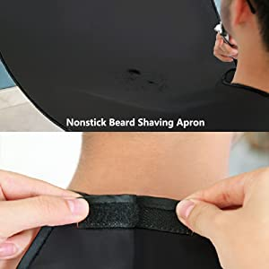 Delantal impermeable para barba