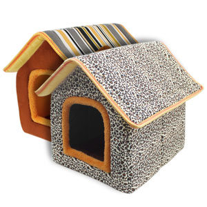 SONGWAY Cat House for Indoor Cats, Cat Bed Cave, Waterproof Dog Bed Cover Washable