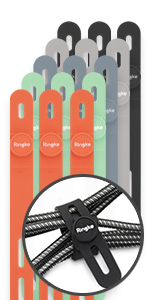 Ringke Silicone Cable (15Pack)