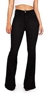Women Bellbottom Jeans