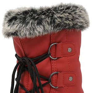 kids snow boots winter fur line snow boots girls boys toddler waterproof cyber wide fall warm
