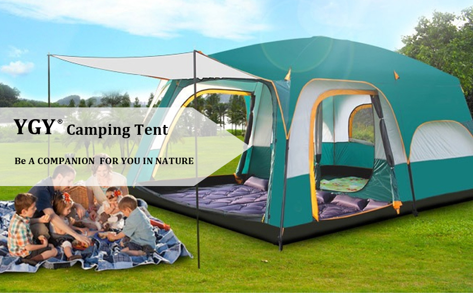 camping set green tents for camping two bedroom tents for camping family tent large tent mesh tent