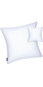 Microbead Stuffer Pillow Insert Sham Square Pillow Cushion for Extra Comfort amp; Support