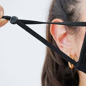 adjustable face masks for men and women unisex
