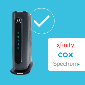 Certified by Xfinity, Cox, and Spectrum