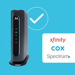 Xfinity, Cox ve Spectrum tarafından onaylanmıştır