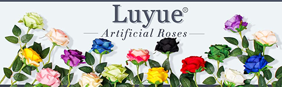Luyue Artificial Roses