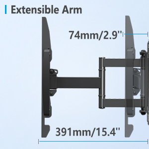 Extensible Arm 60 Inch TV Wall Mount