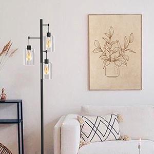 3 light floor lamps for living room