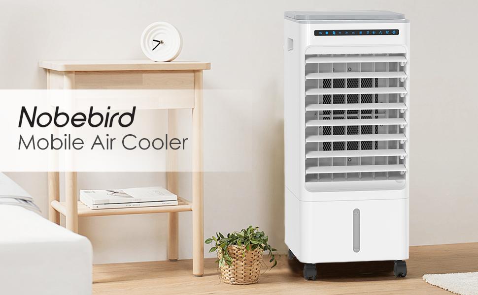 Nobebird Aire Acondicionado, 4 en 1 Móvil Climatizador Evaporativo ...