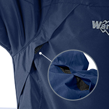 Wantdo Men's Interchange 3 in 1 Ski Jacket Waterproof Coat Detachable Liner