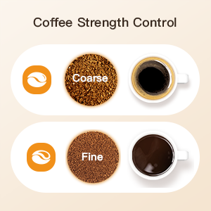Coffee Strength Control