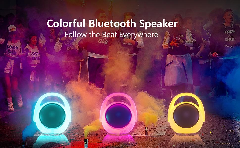 karaoke speaker bluetooth with light
