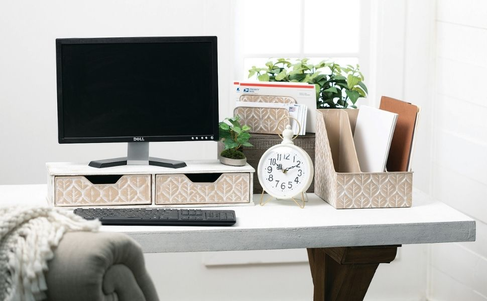 home office file organizer mail holder
