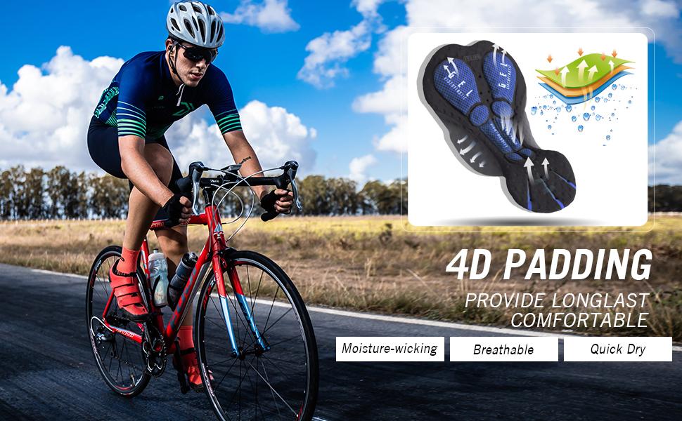 cycling bib shorts padded