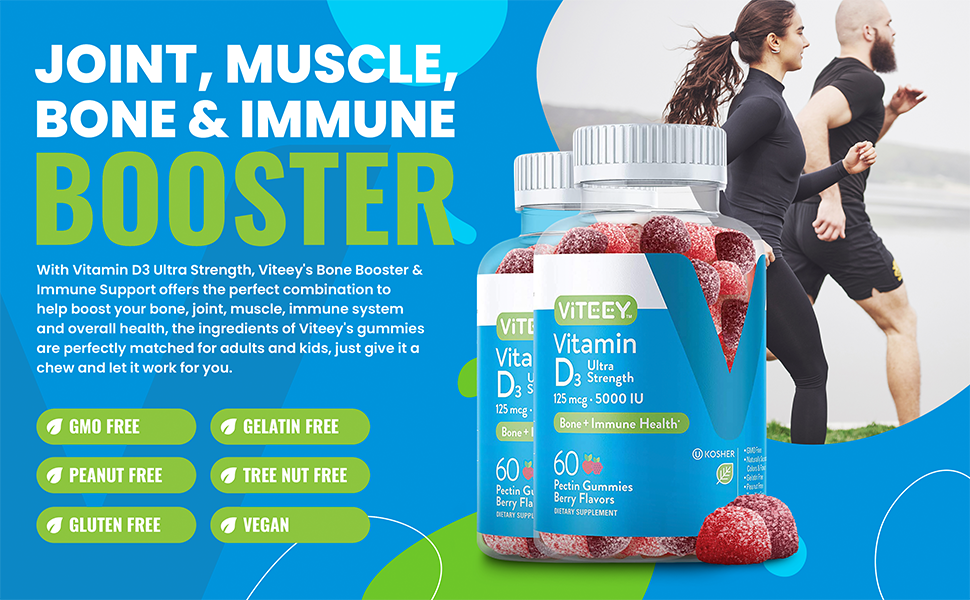 Joint, Muscle, Bone & Immune Booster