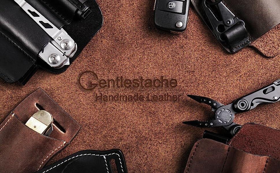 edc leather pocket organizer