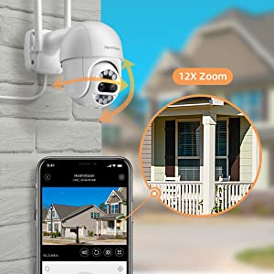 PTZ Outdoor Camera Wireless