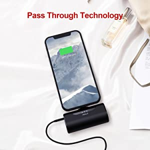 mni portable charger iphone