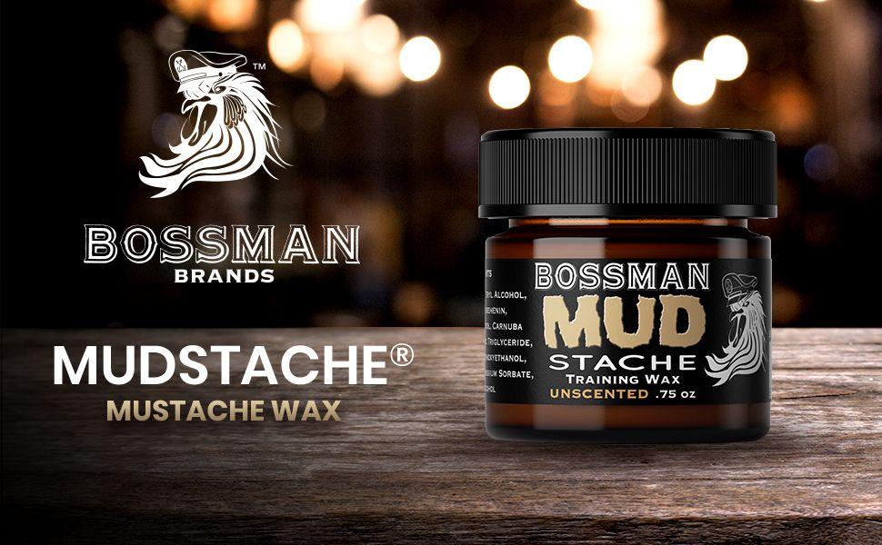 Bossman MUDstache Wax