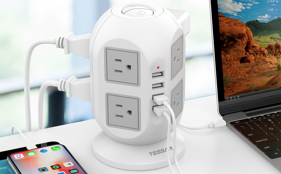 surge protector tower
