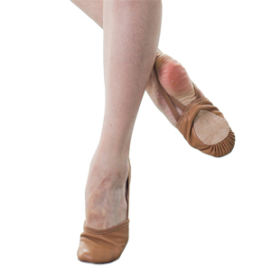 Leather Ballet Half Sole Lyrical Shoes