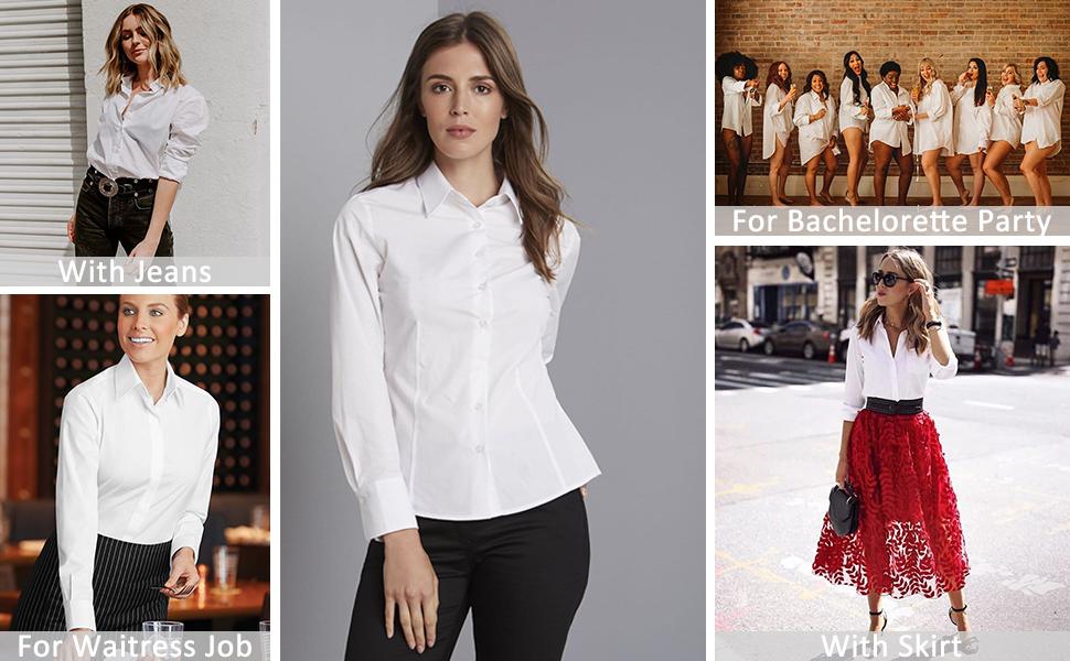 women button down shirt