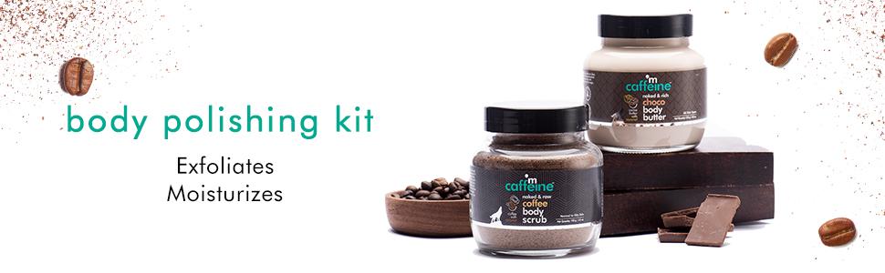 body polishing kit exfoliation deep moisturization