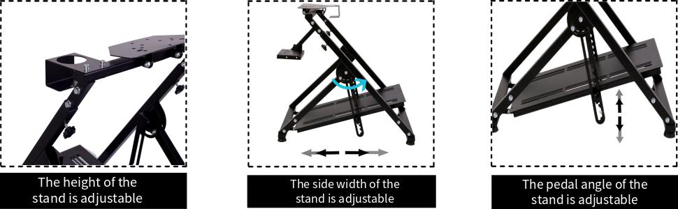 Racing Wheel Stand