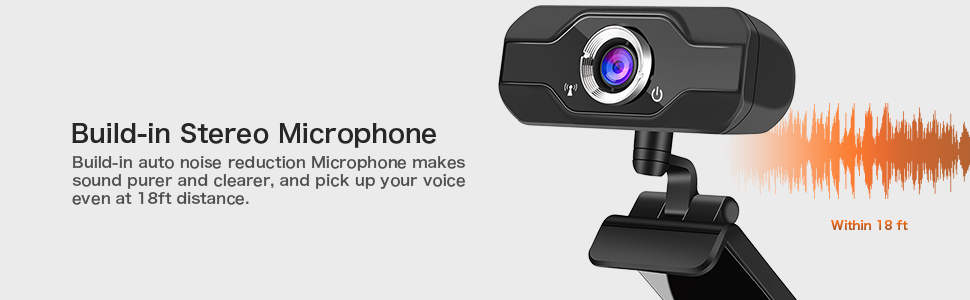 web camera with microphone