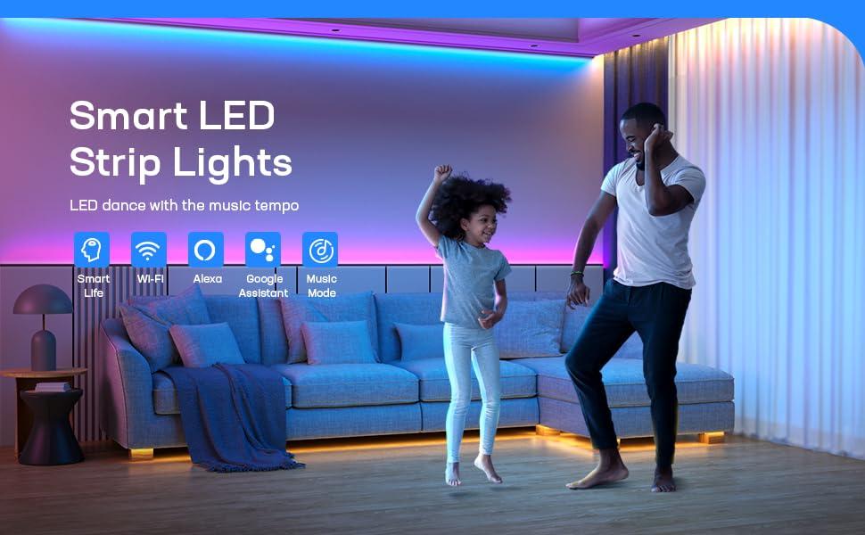 LED лента.