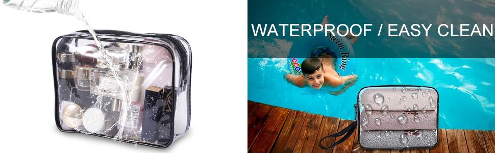waterproof makeup bag