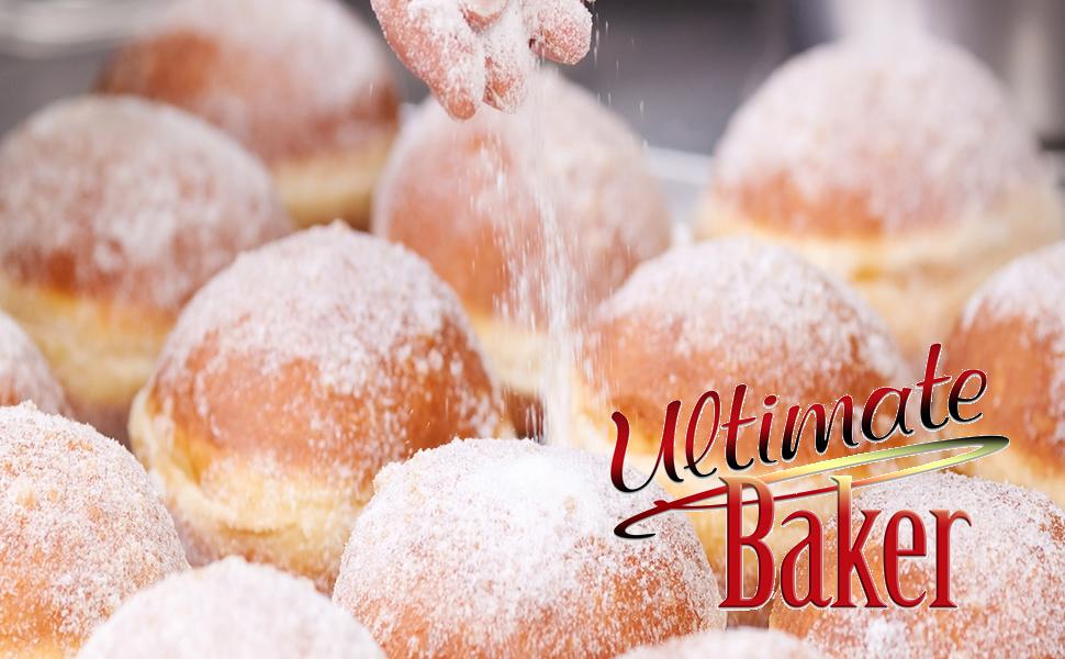 donut sugar, snow sugar, pastry sugar, colored donut sugar, dusting powder, powdered sugar