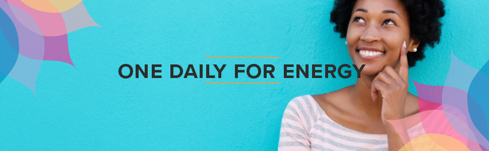 one daily for energy