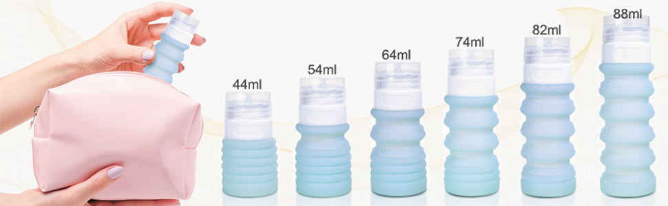 Travel Bottle Set Food-Grade Refillable Travel Containers