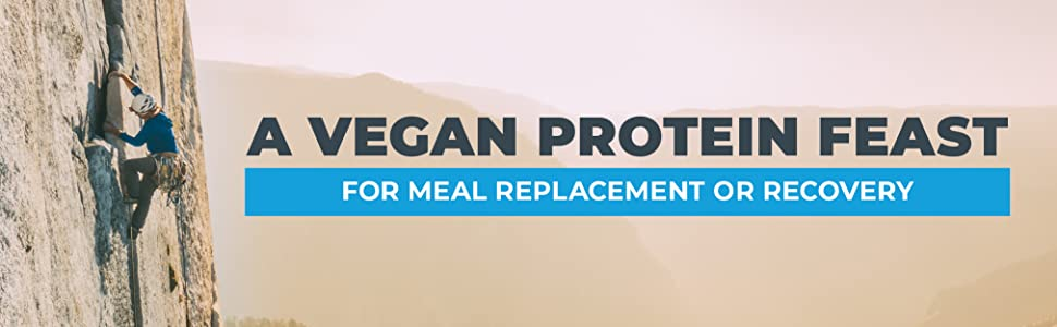 A vegan protein feast for meal replacement or recovery
