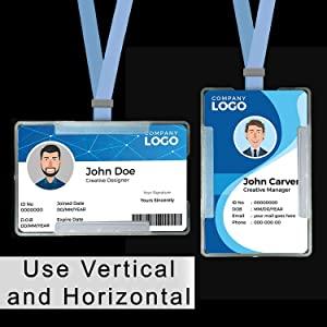 ID Badge Card Holder