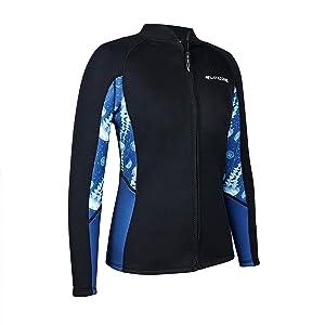 diving suit women wet suits snorkeling kayaking canoeing suit wetsuits jacket wetsuit tops women