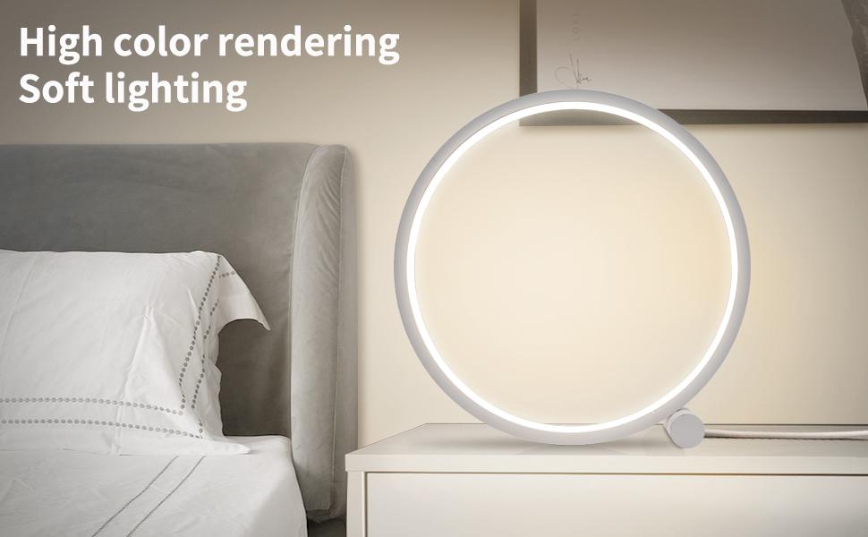 Led Bedside Lamp Table Light for Bedroom Desk Reading Light USB charging