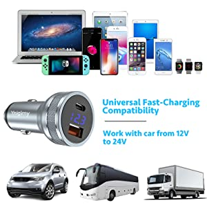 Car charger 112