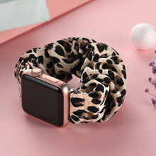 There are various vivid colors or popular patterns scrunchie bands